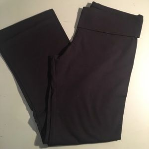 Victoria Secret fold over yoga pants